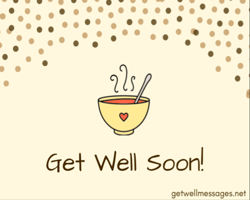 soup get well soon message