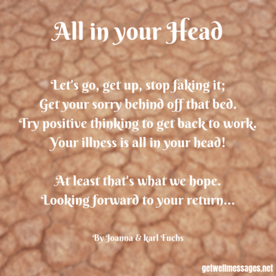 all in your head funny poem
